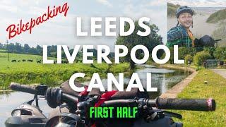 Bikepacking Leeds Liverpool Canal on Voodoo Bizango - First Half: Leeds Dock to Church