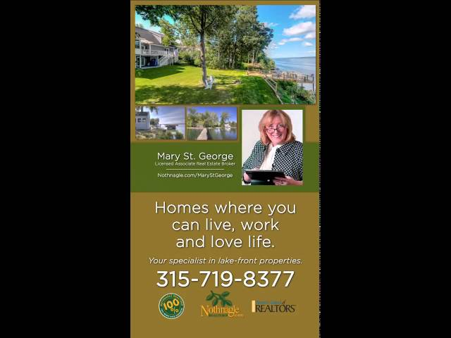 Mary St George  Your Waterfront REALTOR® in the Finger Lakes