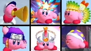 Kirby's Return to Dream Land - All Copy Abilities