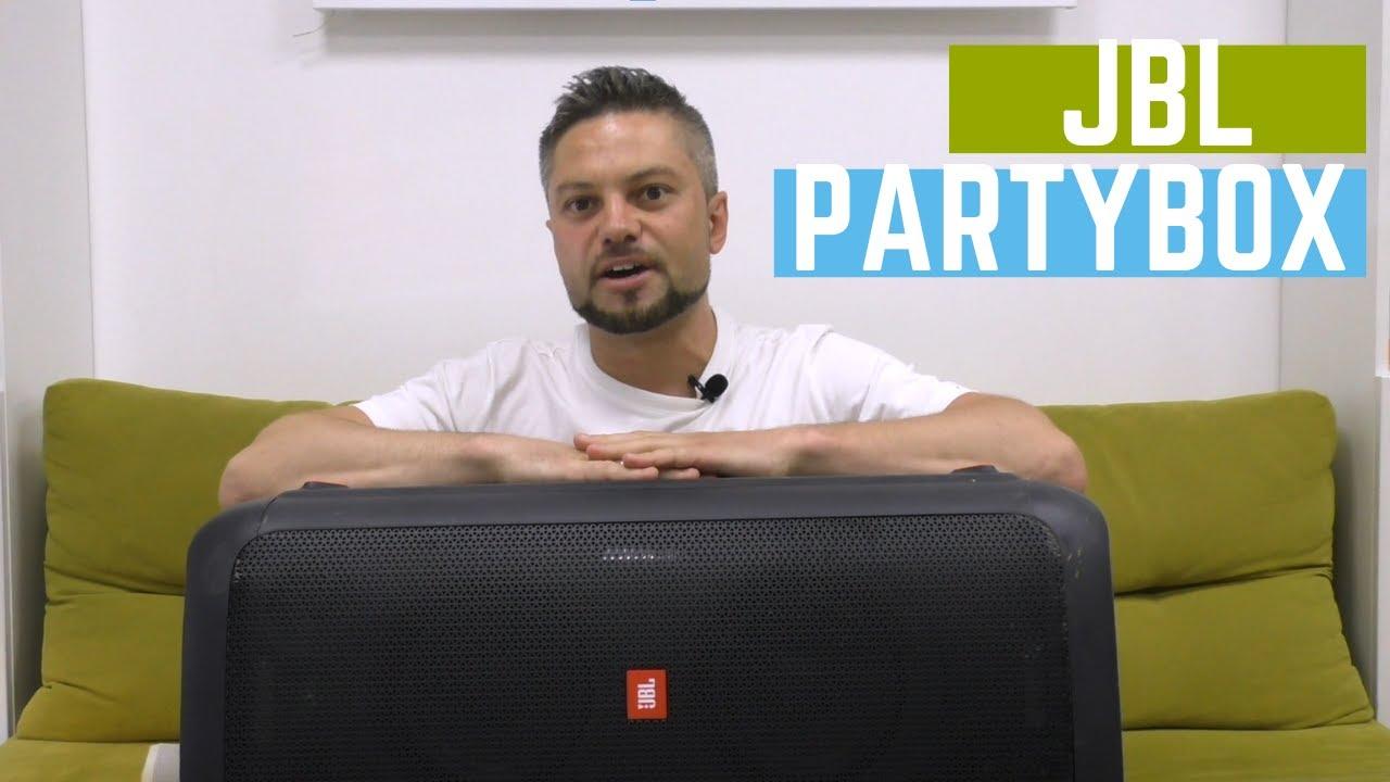 Обзор JBL Party Box 300 - взгляд изнутри. Bluetooth колонка за 450$   China-Service