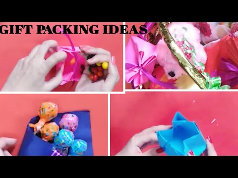 DIY Gift packing | Paper Crafts | Gift wrap ideas
