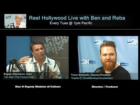 Romanian Star Bogdan Stanoevici and Director Timon Birkhofer on Reel Hollywood Live