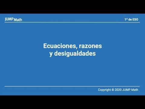 1. Unidad 3. Ecuaciones, razones y desigualdades