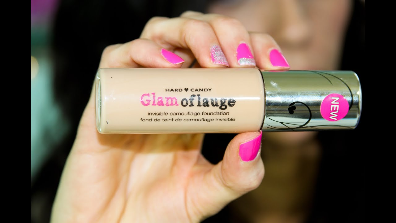 NEW Hard Candy Glamoflauge Foundation RAVE Review!! - YouTube