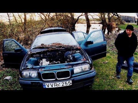 Нашли BMW e36 в лесу. Пригодилась 2 в 1 4k UHD