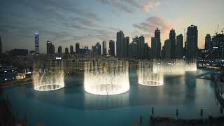 ❤️ Exo ❤️ power played at Dubai fountain the first K pop song who chosen to be played
