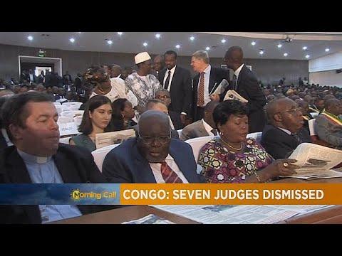Congo : Sept magistrats révoqués [The Morning Call]