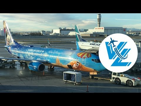 "TRIP REPORT: WestJet ""DISNEY FROZEN"" themed Boeing 737 - Economy Class - Calgary ✈ San Francisco"
