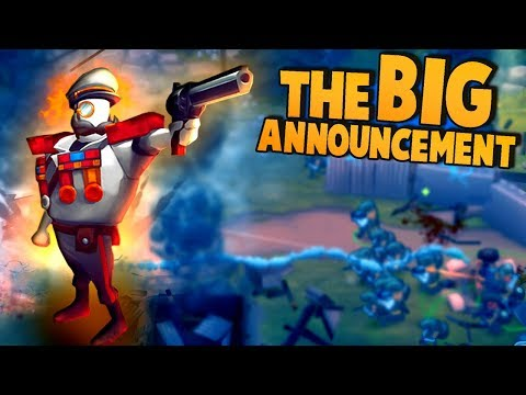 THE BIG ANNOUNCEMENT!  Uber Unit Upgrades! (Guns Up Multiplayer Gameplay)