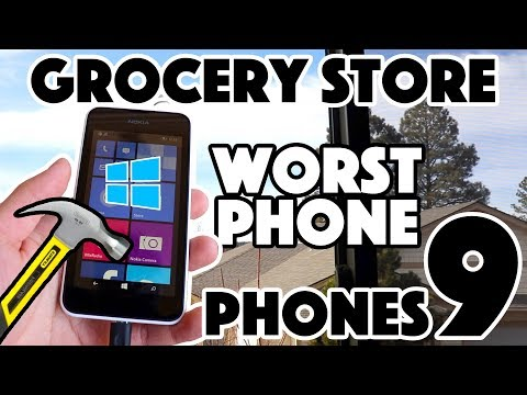 Bored Smashing - GROCERY STORE PHONES! Episode 9