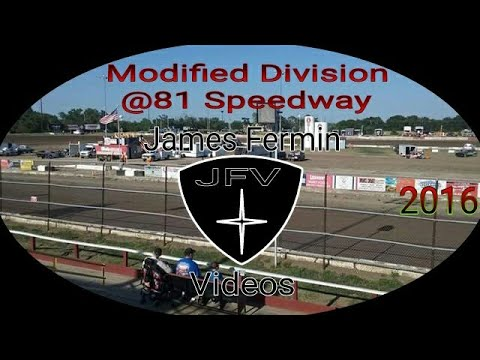 Modified Division Feature #12, 81 Speedway