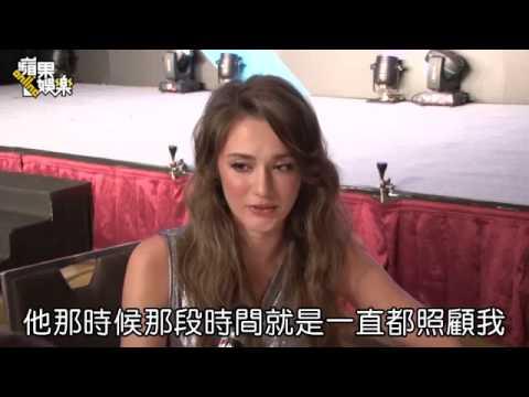 「不想一個人過年」瑞莎羞認除夕男友家圍爐--蘋果日報 20150115 - YouTube