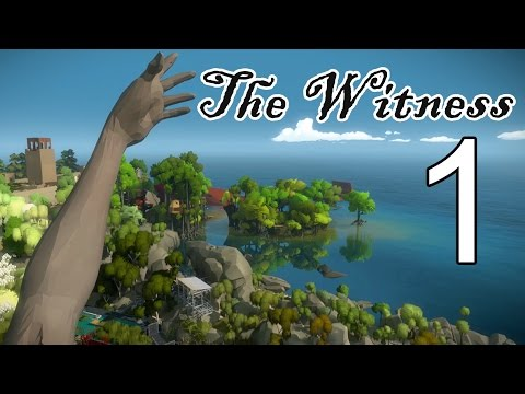 [1] The Witness - Intro - Let's Play! Gameplay Walkthrough (PS4)