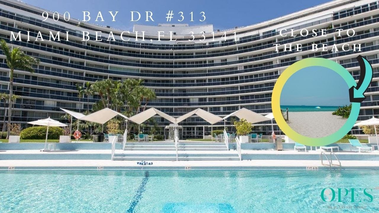 Studio Apartment For Sale Close To The Beach - 900 Bay Dr #313