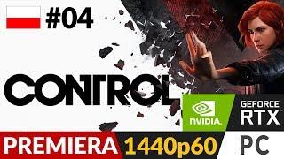 Control PL ☎️ #4 (odc.4)  RTX ON - Przesiadka na PC | Gameplay po polsku