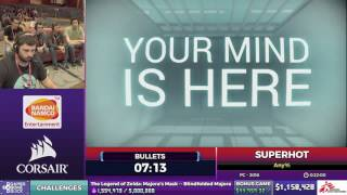 SUPERHOT by Bullets in 20:37 - SGDQ2017 - Part 128