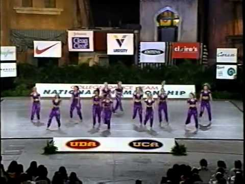 Long Beach State Dance Team 1997