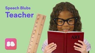 Speech Blubs TEACHER Storybook - Speech Exercises for Kids!