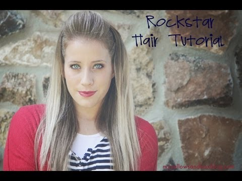 Rock Star Hairstyle Tutorial