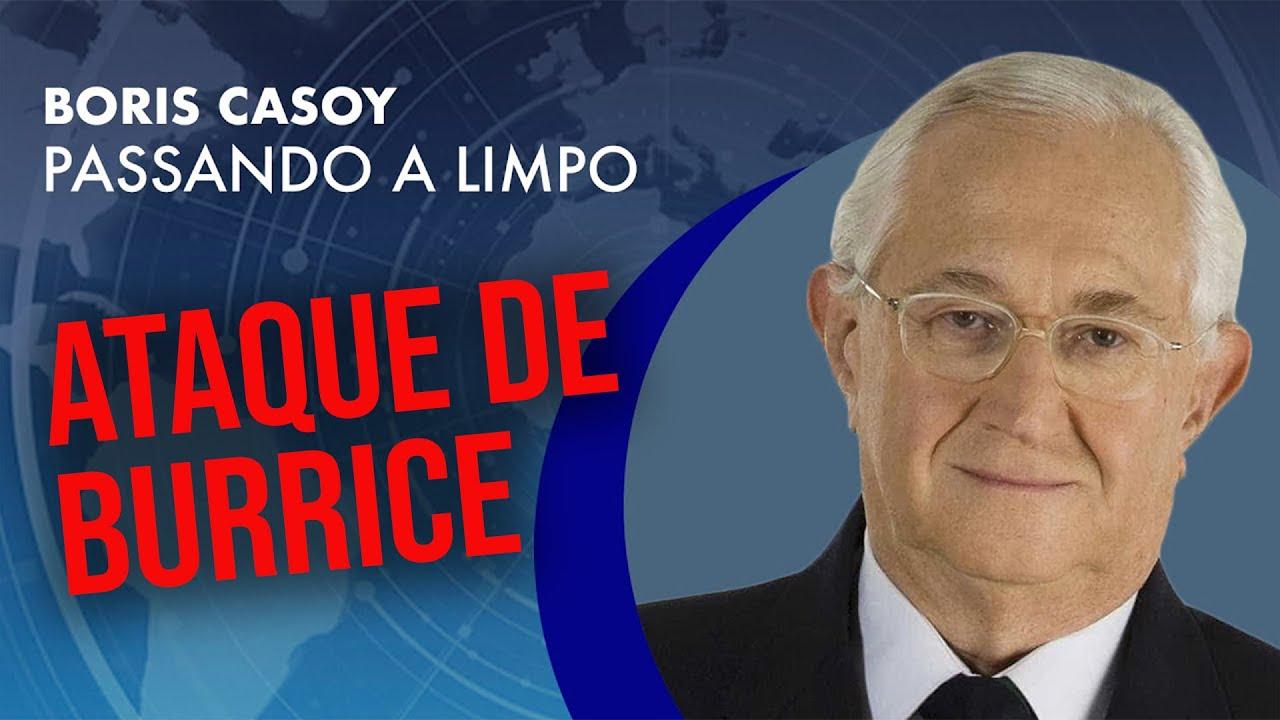 Presidente da Argentina em ataque de burrice | Boris Casoy