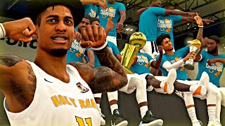 NBA 2K20 MyCAREER: The Journey #10 - INTENSE TRIPLE OVERTIME IN THE CHAMPIONSHIP GAME! CLUTCH SHOTS!