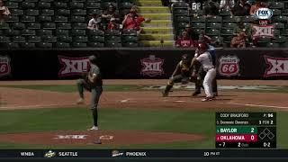2018 Baseball Championship, Baylor vs Oklahoma Baseball Highlights - Game 1