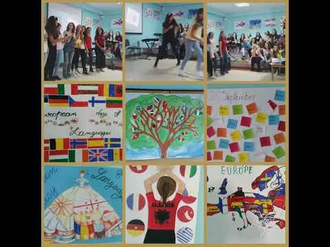 European Day of Languages Fan S. Noli school Tirana Albania