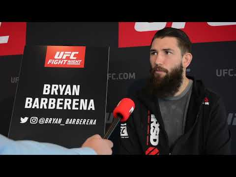 "Bryan Barberena aims ""to finish"" Leon Edwards at UFC Rotterdam"