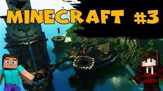 Minecraft серия #3. Шахта, ресы, два ствола. Сериал