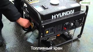 Генератор Hyundai HHY 2200F в работе смотреть