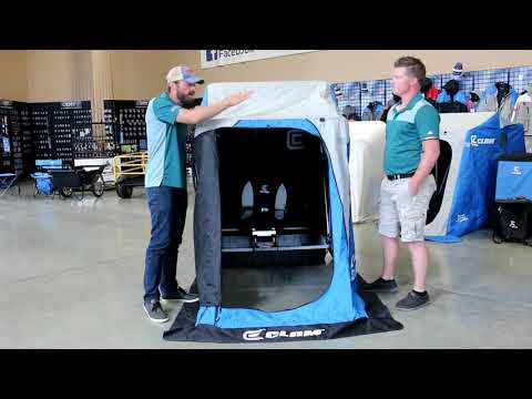 Clam Legend XL Thermal Flip Over Shelter (2020)