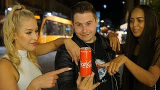 Der BESTE Coca-Cola Zaubertrick! | Magie Hautnah