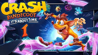 CRASH BANDICOOT 4: IT'S ABOUT TIME 📦 #1: Es wird Zeit!