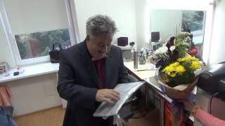 Как Николая Луценко поздравляли с Днем рождения