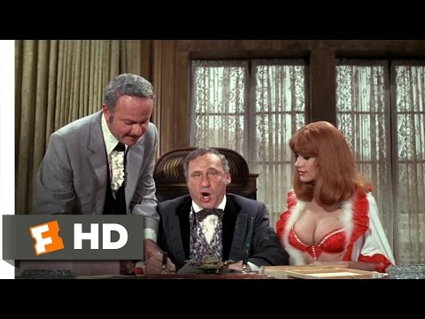 Blazing Saddles 310 Movie   Harrumphing with the Governor 1974 HD