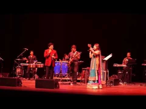 Alka Yagnik Udit Narayan Concert25