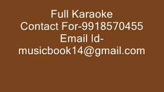 Chain Aap Ko Mila Mujhe Divangee Karaoke
