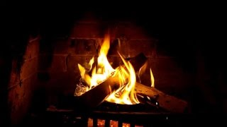 The Best Fireplace With Crackling Fire Sounds - 2 Hours - Full Hd 1080p
