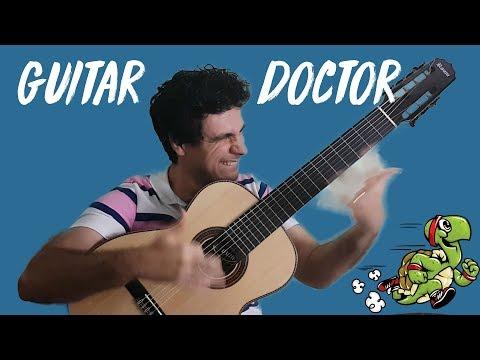 Do not practice guitar too slow!