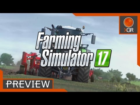 Preview - Farming Simulator 17 - Xbox One Gameplay