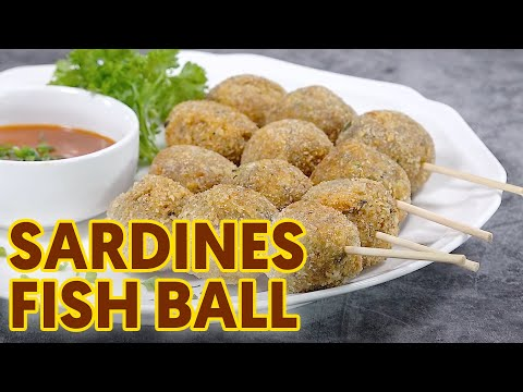 Sardines Fish Balls With Sweet And Sour Sauce