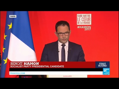 France Presidential Election: Defeated socialist Hamon calls to vote for Macron in 2nd round