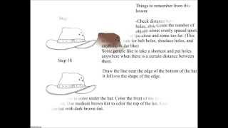 How to Draw a Cool Cowboy Hat