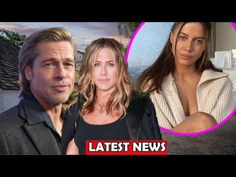 Brad Pitt & Jennifer Aniston Moved Back To Live Together After Split Girlfriend Nicole Poturalski