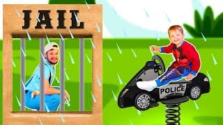 Rain Rain Go Away Song #14 | Police story | Mirik Yarik Nursery Rhymes & Kids Songs