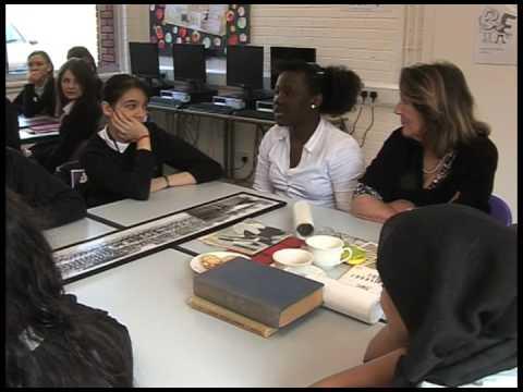 Skinners School for Girls, Stamford Hill, London: 'Old girls' visit