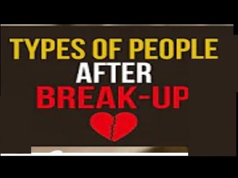 Types of people after break-up by Delhi Funtars