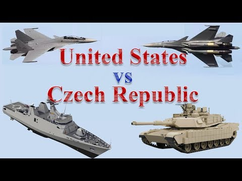 United States vs Czech Republic Military Power 2017