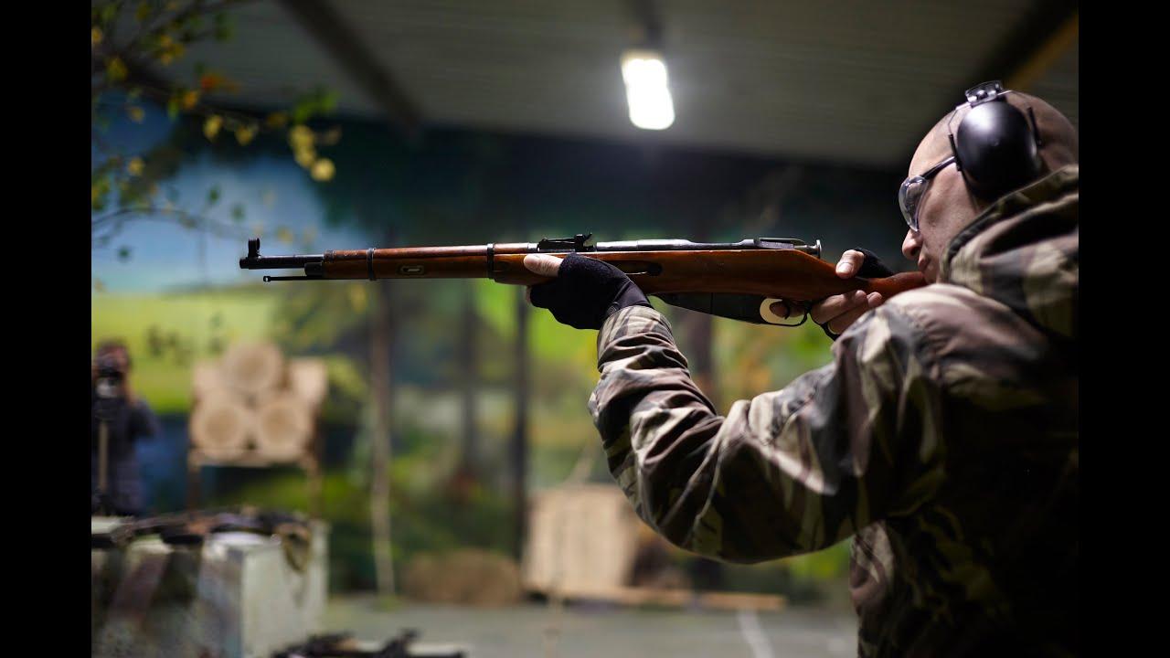 Охолощенная винтовка Мосина КО 90, 30 СХ - YouTube