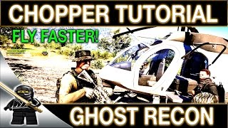 Ghost Recon Wildlands Helicopter Tutorial - How To Fly A Helicopter in GRW and Dodge SAMs